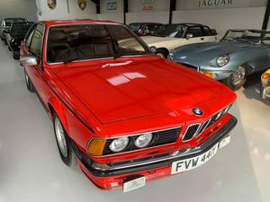 1982 RESTORED  BMW  635  CSI  OVER £17K OF  RECENT  BILLS  For Sale