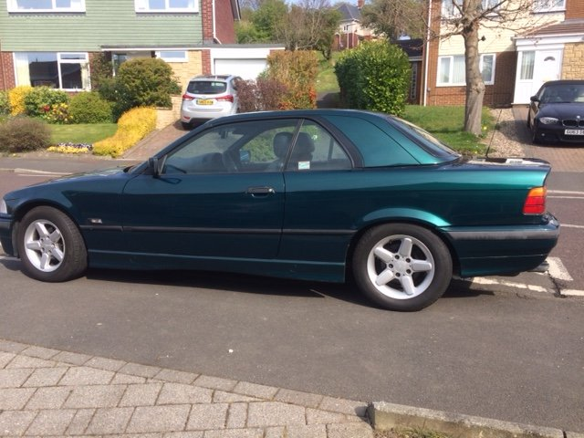 1995 BMW E36 2.8 Manual  For Sale (picture 1 of 6)
