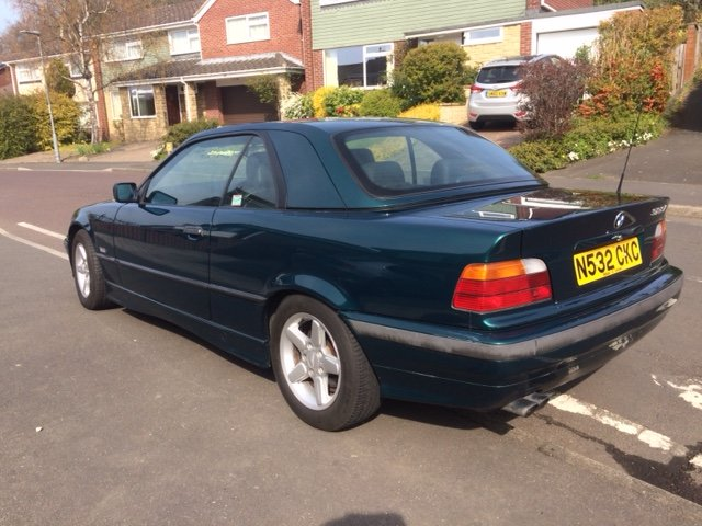 1995 BMW E36 2.8 Manual  For Sale (picture 2 of 6)