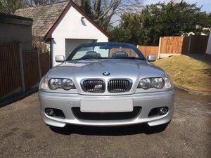 2002 BMW 325  2.5 Ci  Sport Convertible (M pack)