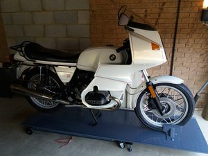1983 Super Rare 'Jahre' White R100RS with 27,581 miles