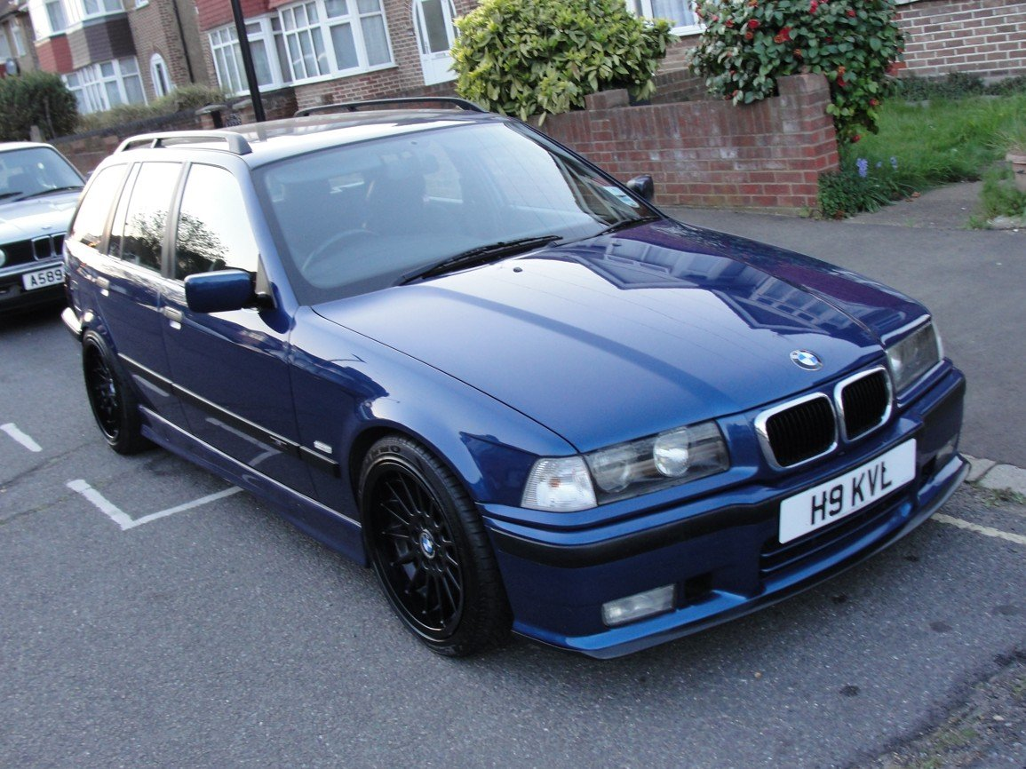 1999 BMW e36 Touring M Sport Avus Blue For Sale (picture 1 of 6)