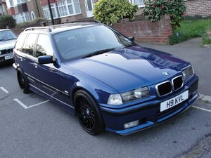 1999 BMW e36 Touring M Sport Avus Blue For Sale