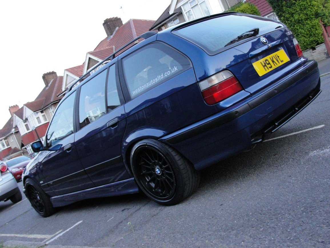 1999 BMW e36 Touring M Sport Avus Blue For Sale (picture 2 of 6)