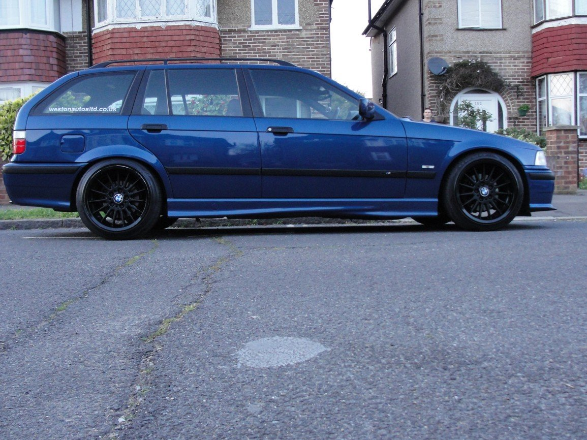 1999 BMW e36 Touring M Sport Avus Blue For Sale (picture 3 of 6)