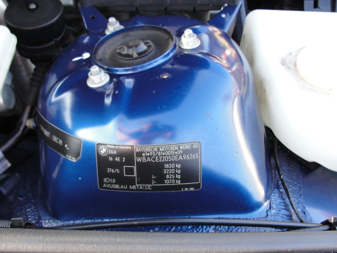 1999 BMW e36 Touring M Sport Avus Blue For Sale (picture 5 of 6)