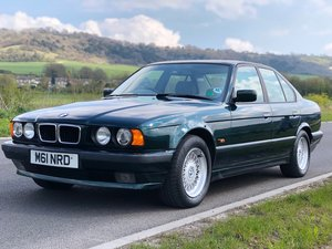 1994 BMW E34 525i Low Mileage FSH