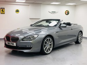 2011 BMW 640i SE Convertible 3.0 Petrol 38000 miles For Sale