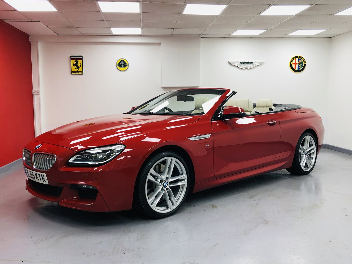2015 BMW 650i MSport Individual Convertible V8 Twin Turbo For Sale (picture 1 of 6)