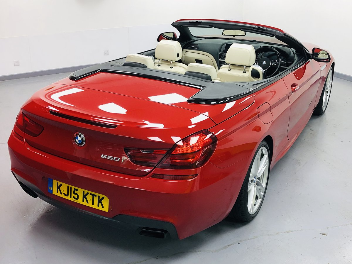 2015 BMW 650i MSport Individual Convertible V8 Twin Turbo For Sale (picture 6 of 6)
