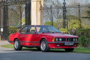 1987 BMW 635csi Manual