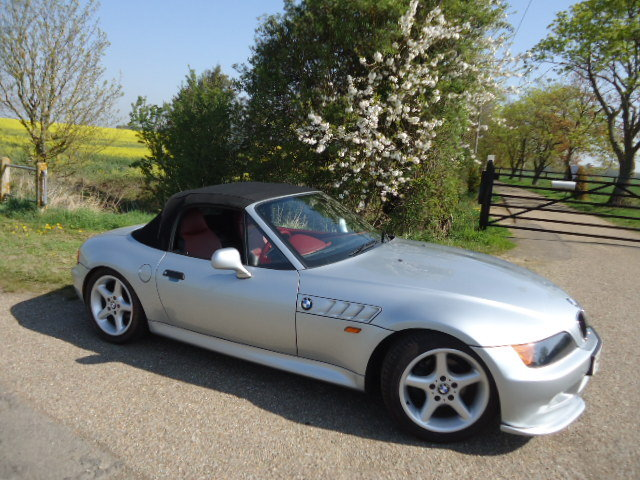 1998 ONLY 18775 Miles, Z3, High Spec. For Sale (picture 5 of 6)