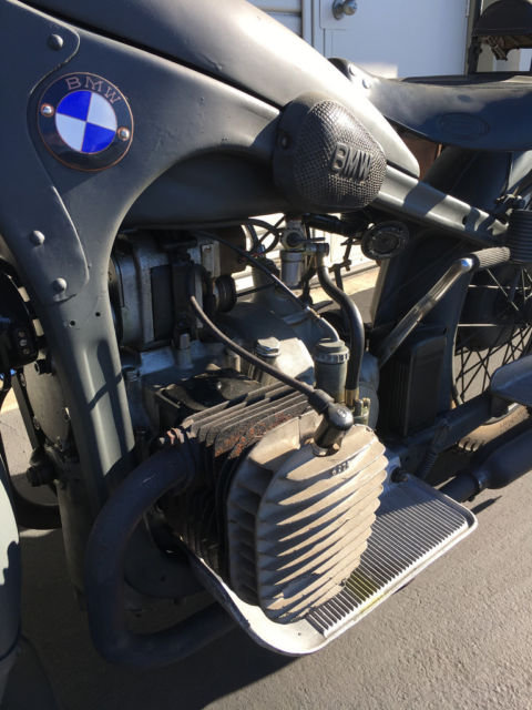 1957 FOR SALE : 1941 BMW R12 For Sale (picture 4 of 4)