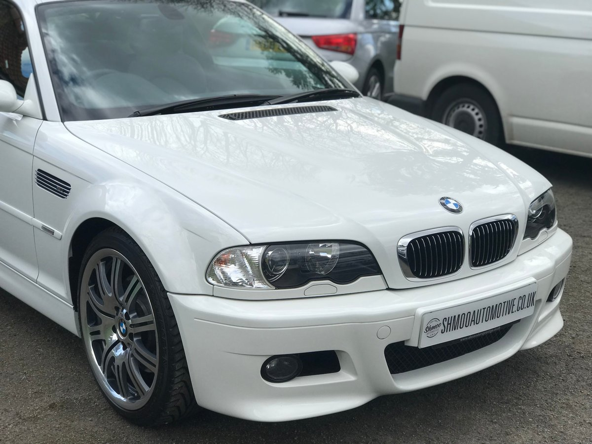 2005 BMW M3 E46 SMGII Coupe - Just 2,250 miles.  Perfect. SOLD (picture 1 of 6)