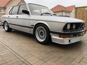1986 BMW 528i SE E28 Alpina Looks For Sale