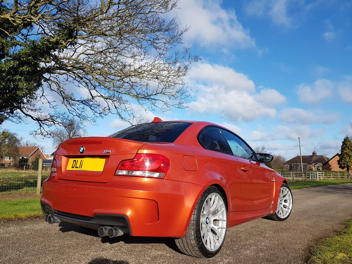 2011 BMW 1M Coupe - Very Collectible - Stunning Example For Sale (picture 2 of 6)