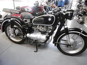 1958 BMW R26 FULL NUT AND BOLT RESTORATION
