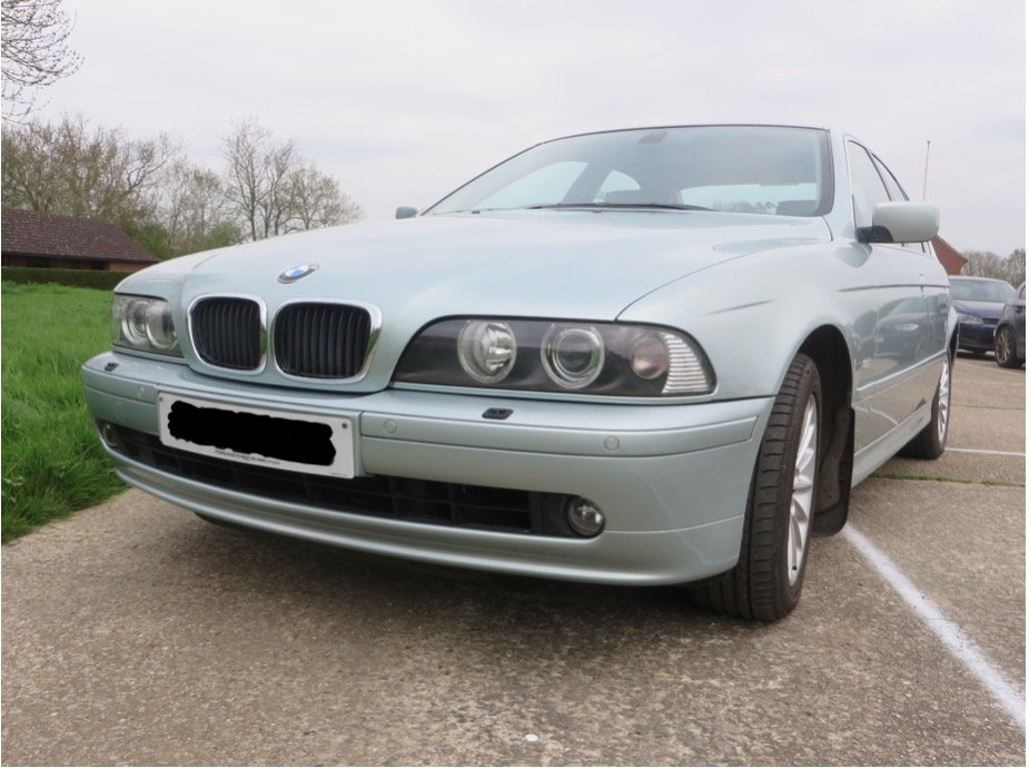 BMW 5 Series, 2002, Saloon, Auto Petrol, 95k miles SOLD (picture 1 of 6)