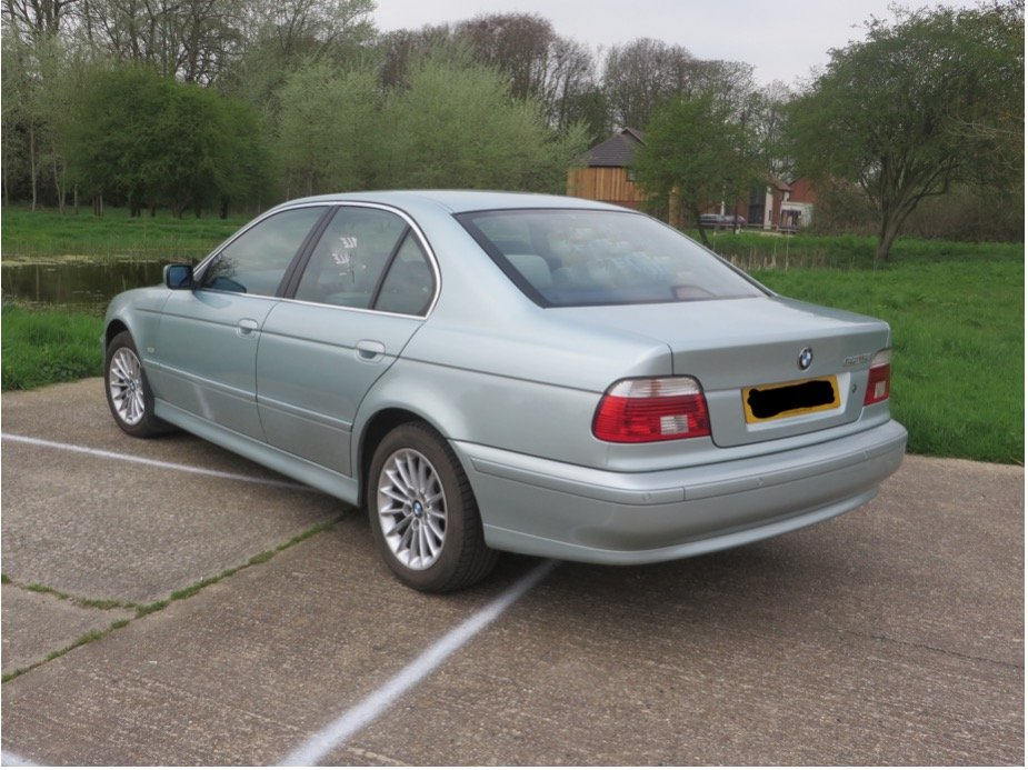 BMW 5 Series, 2002, Saloon, Auto Petrol, 95k miles SOLD (picture 2 of 6)