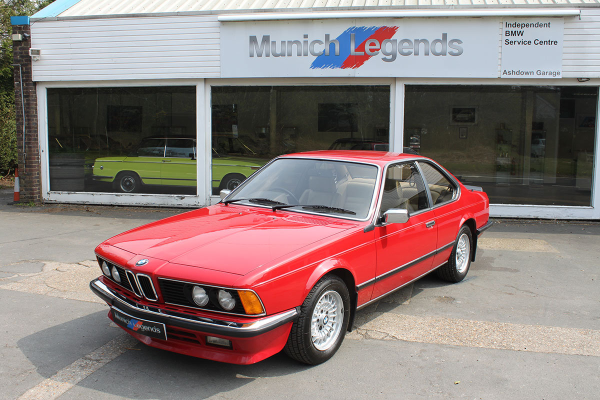 1986 BMW E24 635 CSi - low mileage For Sale (picture 1 of 6)