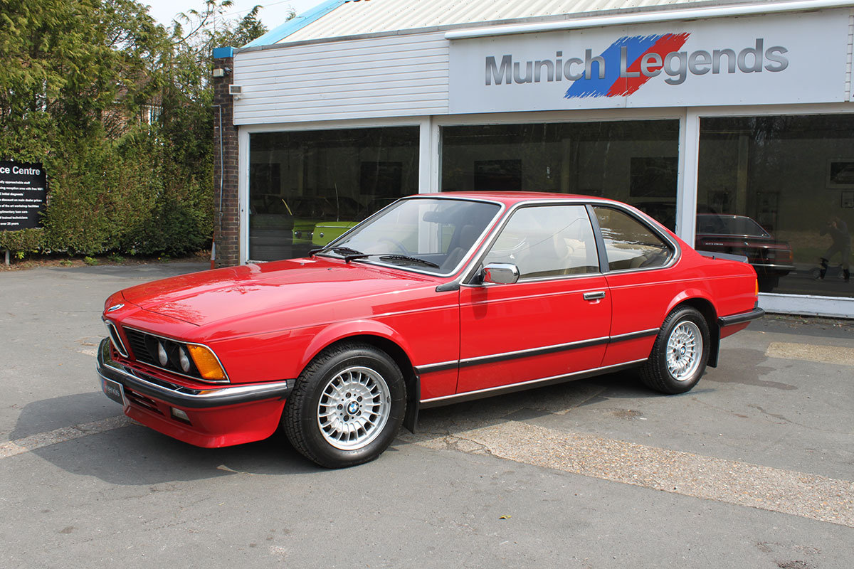 1986 BMW E24 635 CSi - low mileage For Sale (picture 2 of 6)