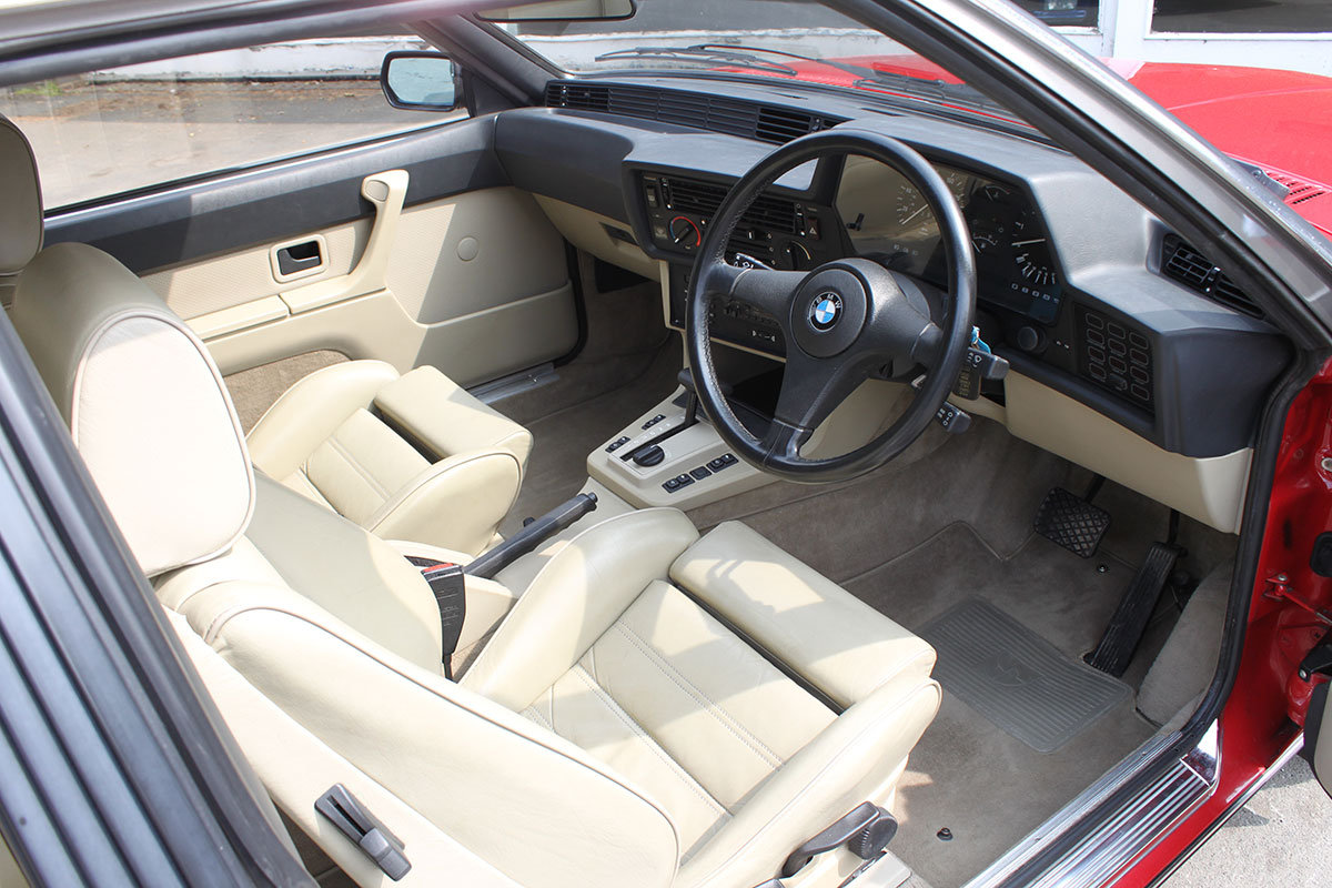 1986 BMW E24 635 CSi - low mileage For Sale (picture 4 of 6)
