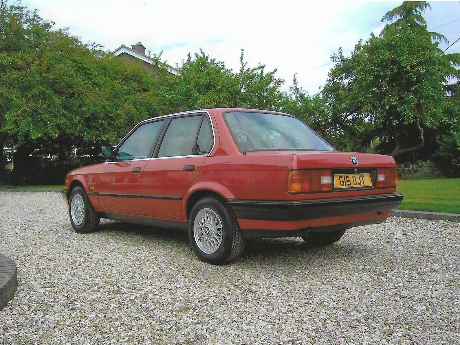 1989 BMW 316i E30 Red. 2010 Restoration, with MOT. SOLD (picture 2 of 6)