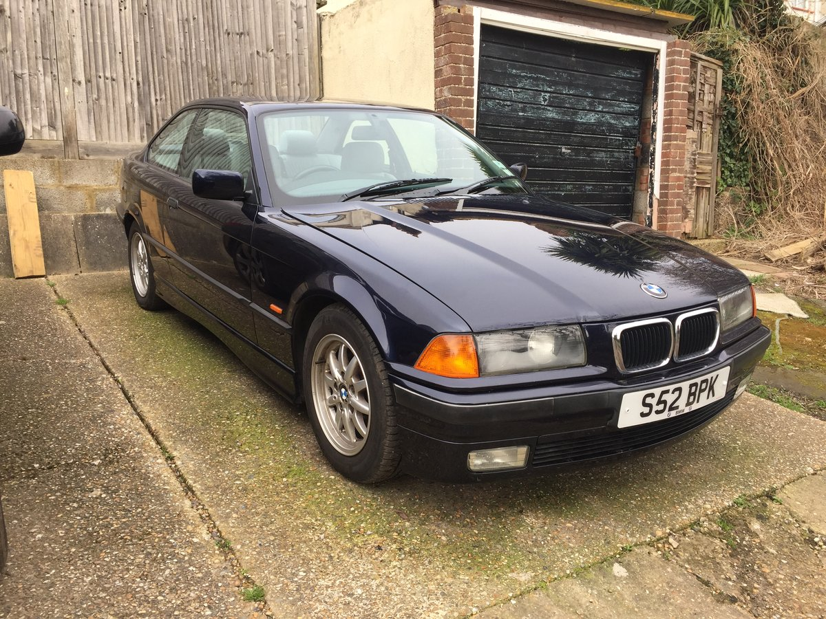 1998 BMW 328i Manual Coupe Non Sunroof Low Mileage For Sale (picture 1 of 6)