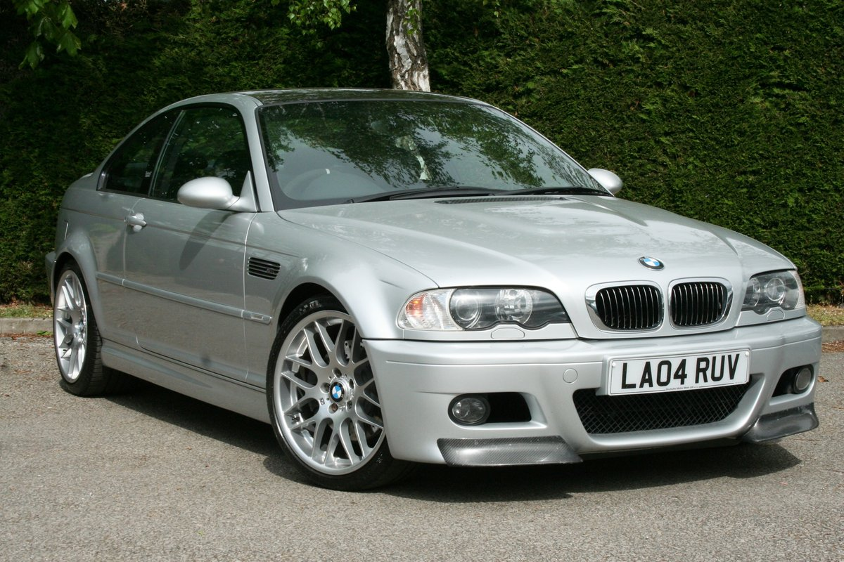 2004 BMW M3 3.2 Coupe Manual - Superb!!! SOLD (picture 1 of 6)