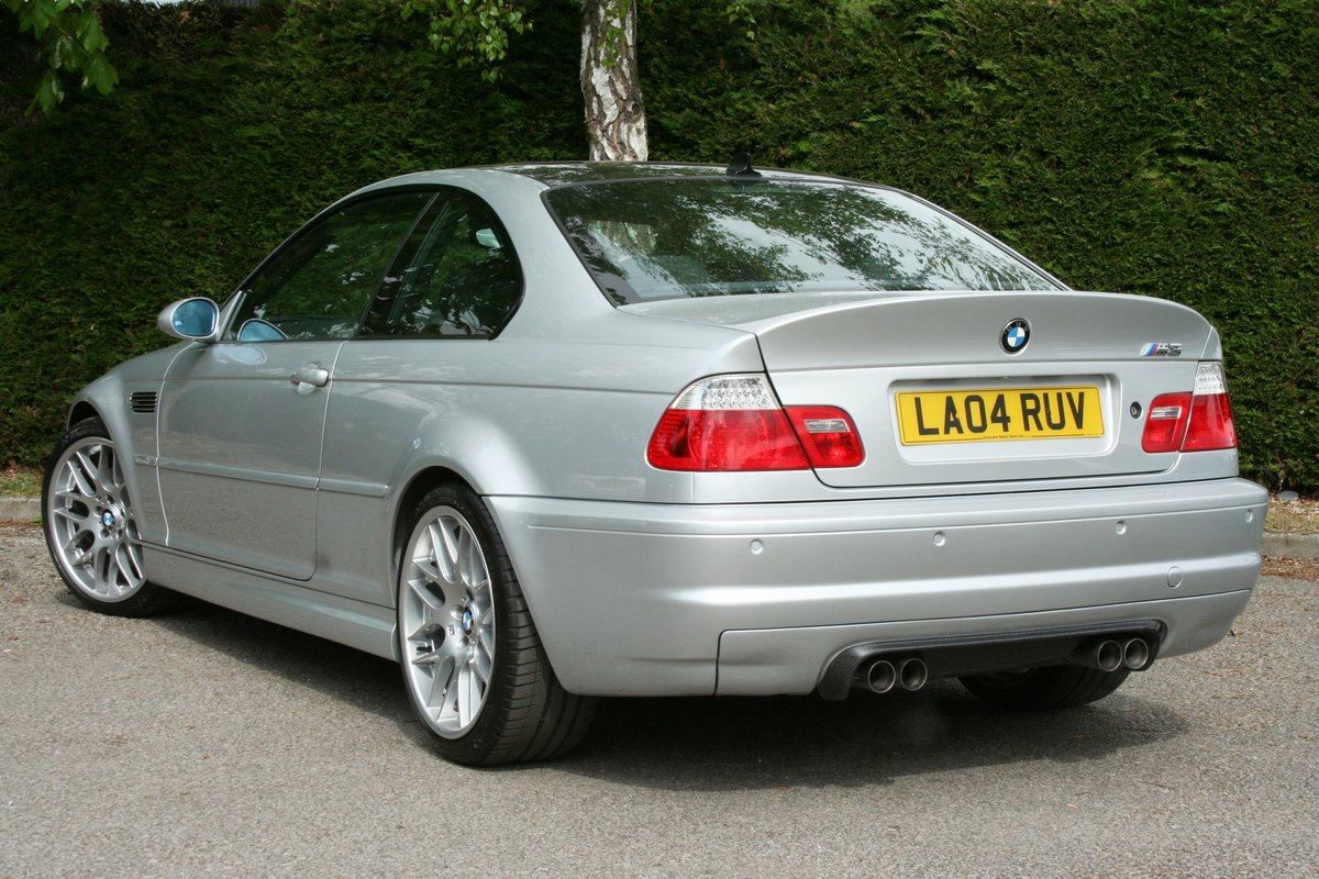 2004 BMW M3 3.2 Coupe Manual - Superb!!! SOLD (picture 6 of 6)