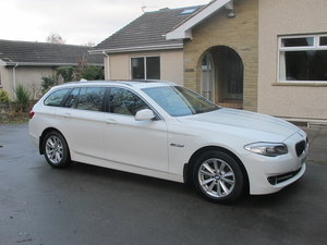 2011 Totally Unmarked BMW 520d SE Touring Auto.