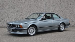 1987 BMW M 635CSi Manual European car