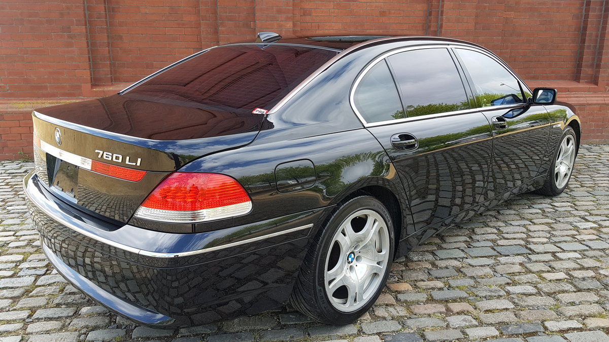 2004 BMW 7 SERIES 760 LI V12 LWB 6.0 AUTOMATIC * LEATHER SEATS *  For Sale (picture 2 of 6)
