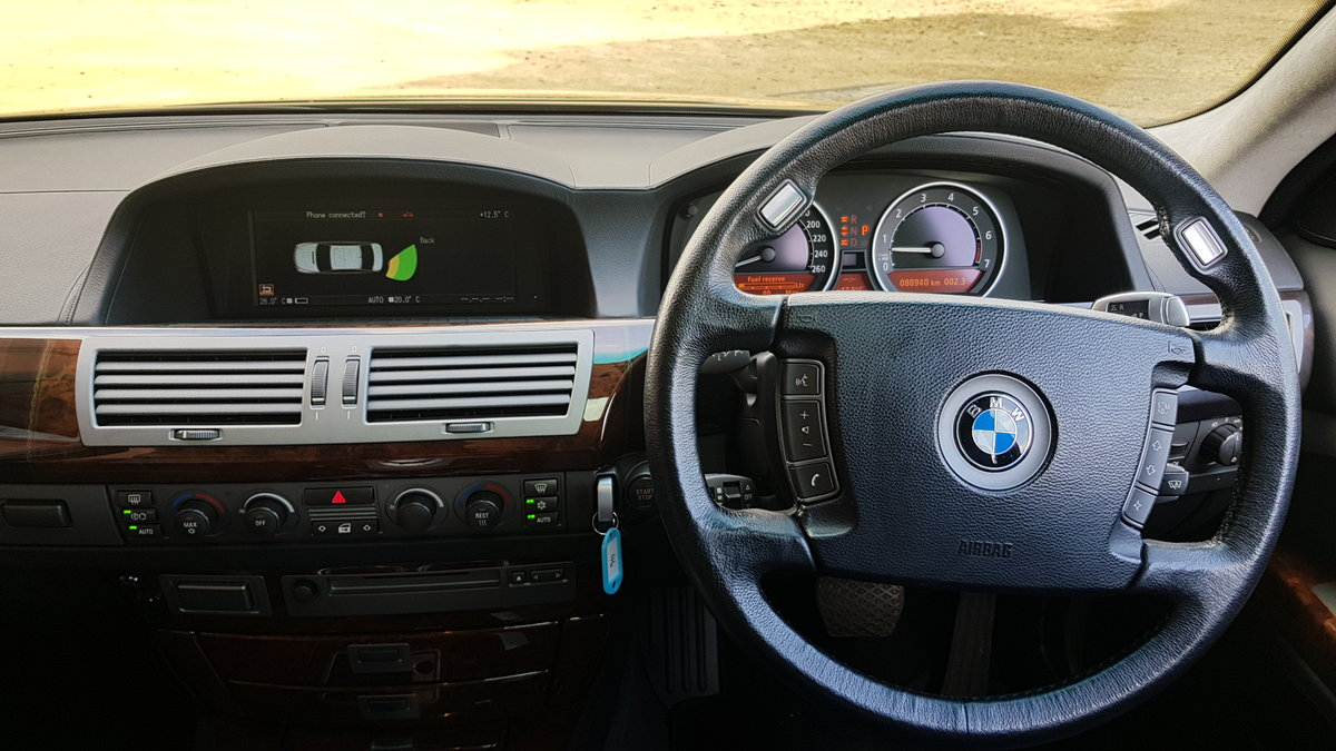 2004 BMW 7 SERIES 760 LI V12 LWB 6.0 AUTOMATIC * LEATHER SEATS *  For Sale (picture 5 of 6)