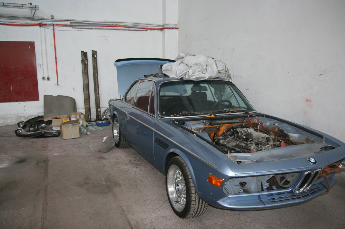 1971 Project BMW 3.0 CS For Sale (picture 1 of 6)