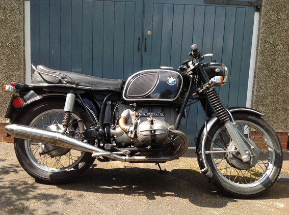 BMW R60/5 short wheel base 1972 For Sale (picture 1 of 6)