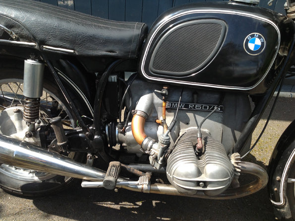 BMW R60/5 short wheel base 1972 For Sale (picture 3 of 6)
