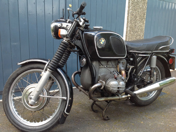 BMW R60/5 short wheel base 1972 For Sale (picture 5 of 6)