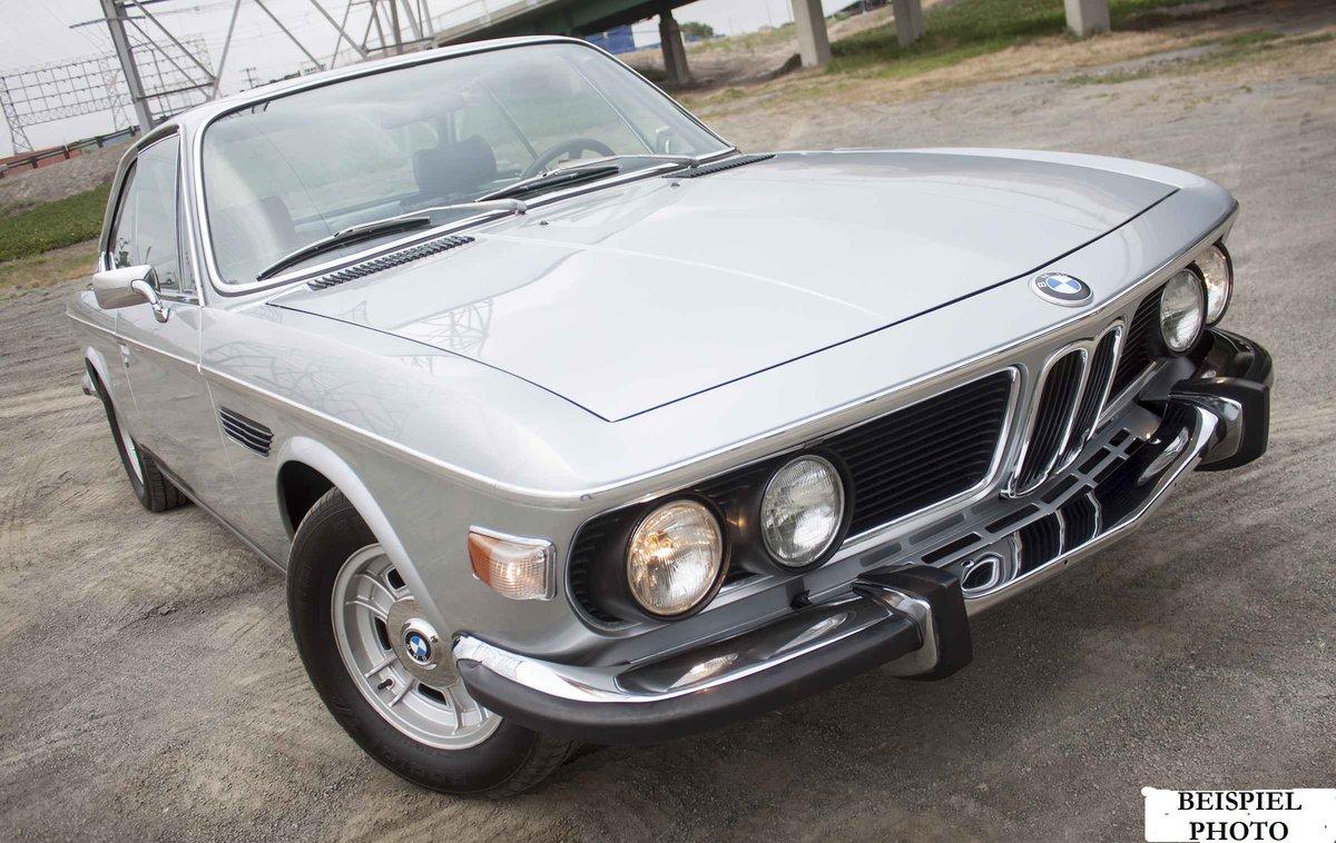 1972 BMW 3.0 CSI Polaris For Sale (picture 1 of 4)