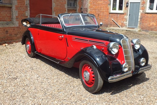 1937 A rare opportunity to buy a convertible BMW 326 For Sale (picture 1 of 6)