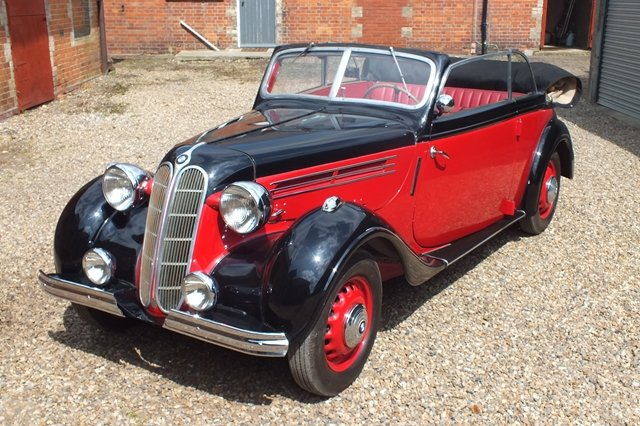 1937 A rare opportunity to buy a convertible BMW 326 For Sale (picture 2 of 6)