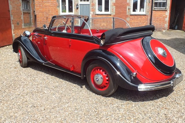 1937 A rare opportunity to buy a convertible BMW 326 For Sale (picture 3 of 6)