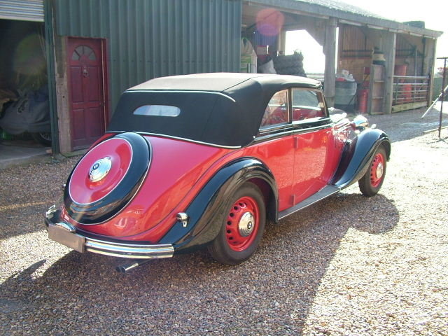 1937 A rare opportunity to buy a convertible BMW 326 For Sale (picture 4 of 6)