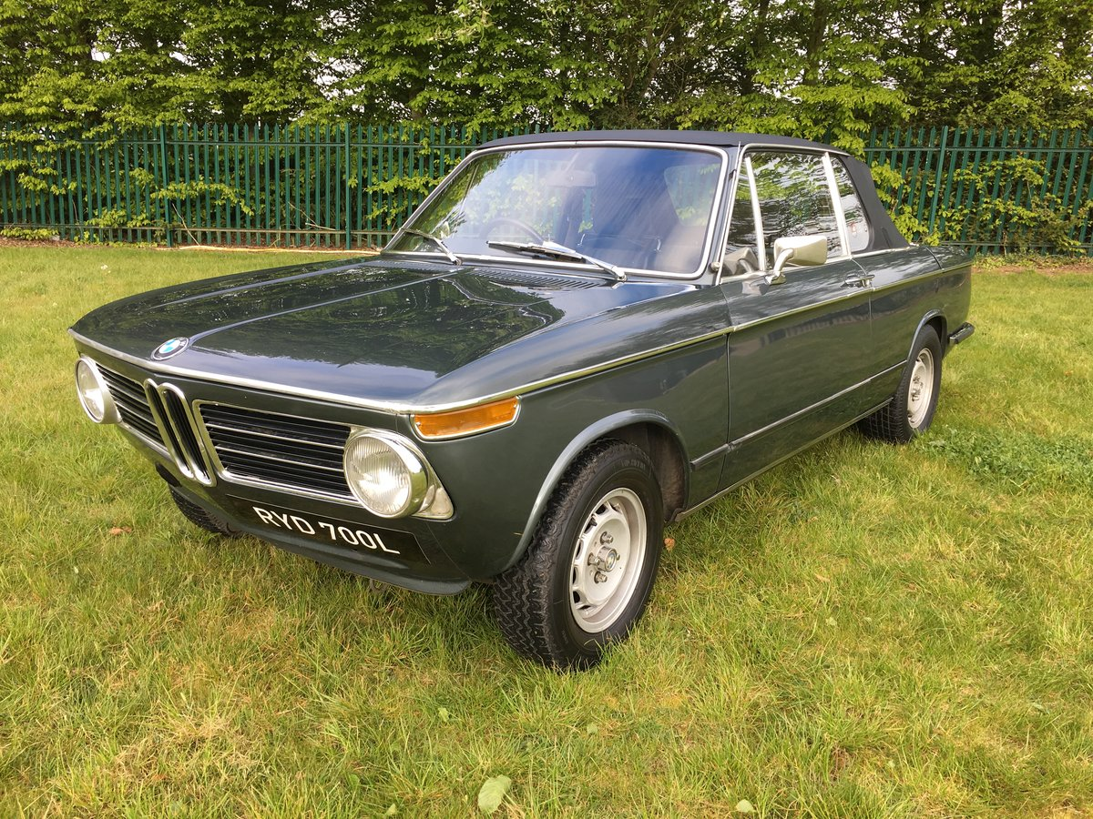 1973 BMW 2002 Targa - one of only 94 RHD for the UK SOLD (picture 1 of 6)