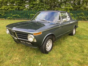 1973 BMW 2002 Targa - one of only 94 RHD for the UK SOLD