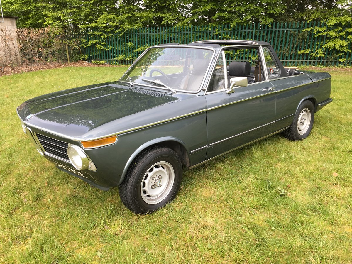 1973 BMW 2002 Targa - one of only 94 RHD for the UK SOLD (picture 2 of 6)