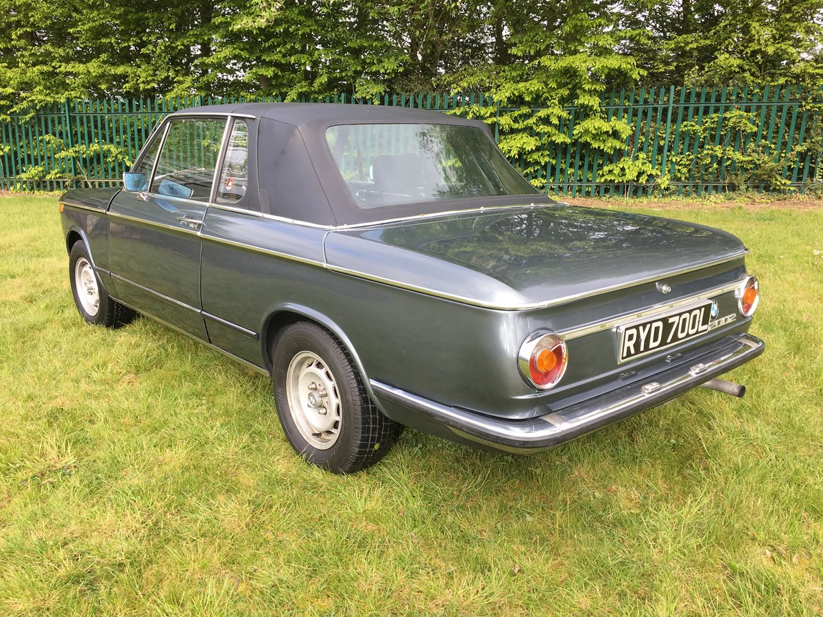 1973 BMW 2002 Targa - one of only 94 RHD for the UK SOLD (picture 3 of 6)