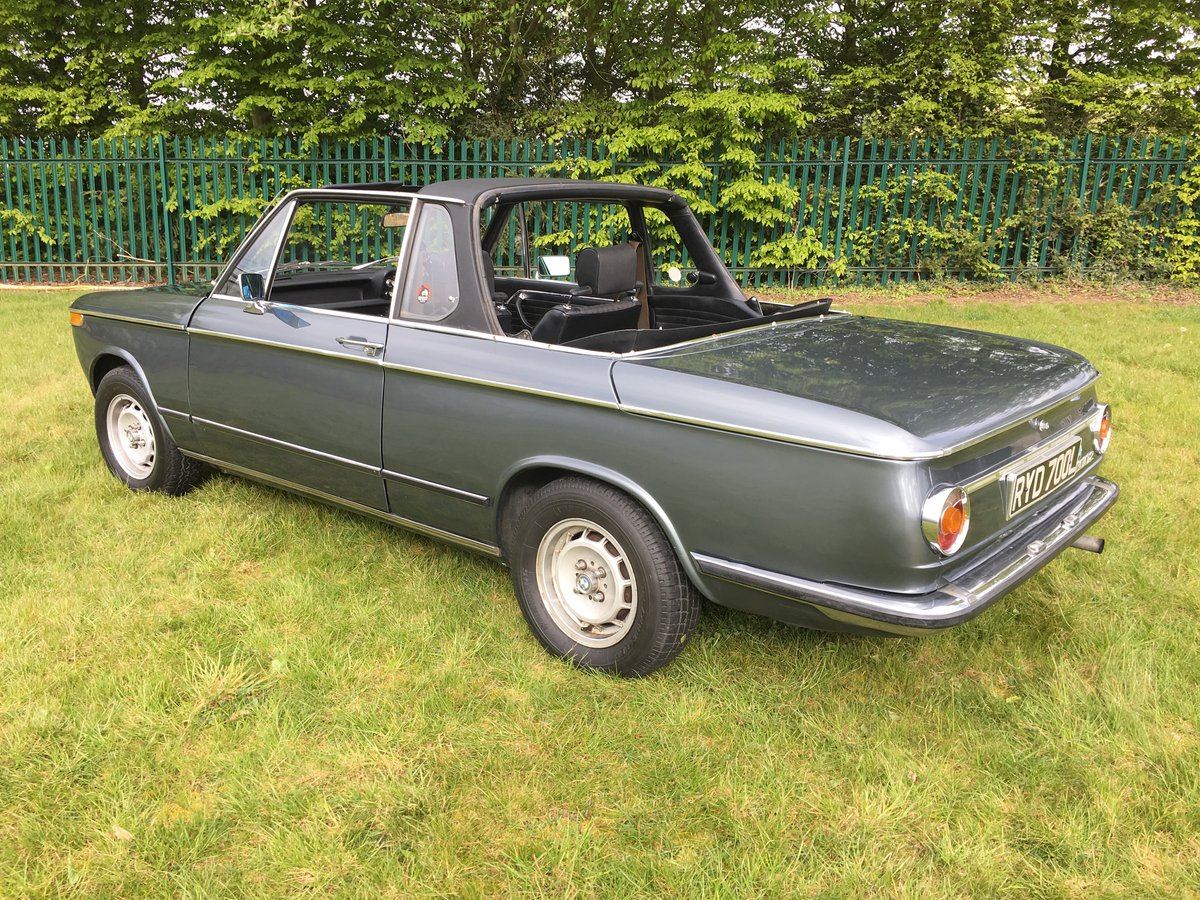 1973 BMW 2002 Targa - one of only 94 RHD for the UK SOLD (picture 4 of 6)