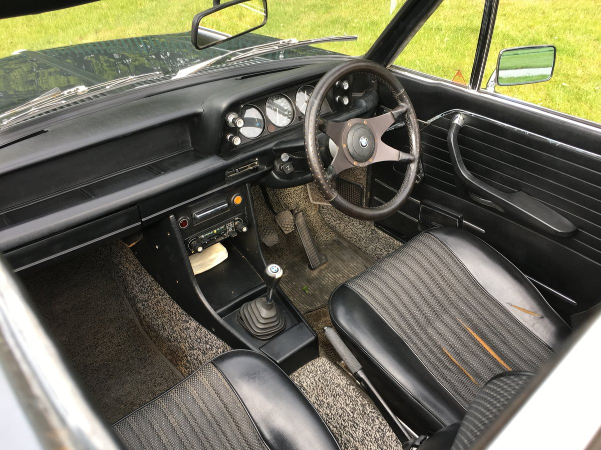 1973 BMW 2002 Targa - one of only 94 RHD for the UK SOLD (picture 5 of 6)