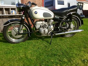 Classic 1960. BMW R60 , Show winner